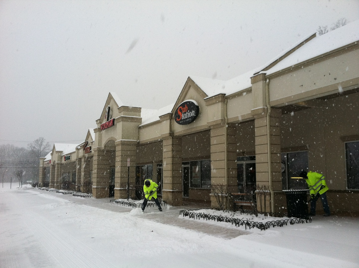 Commercial snow removal in Randolph, NJ
