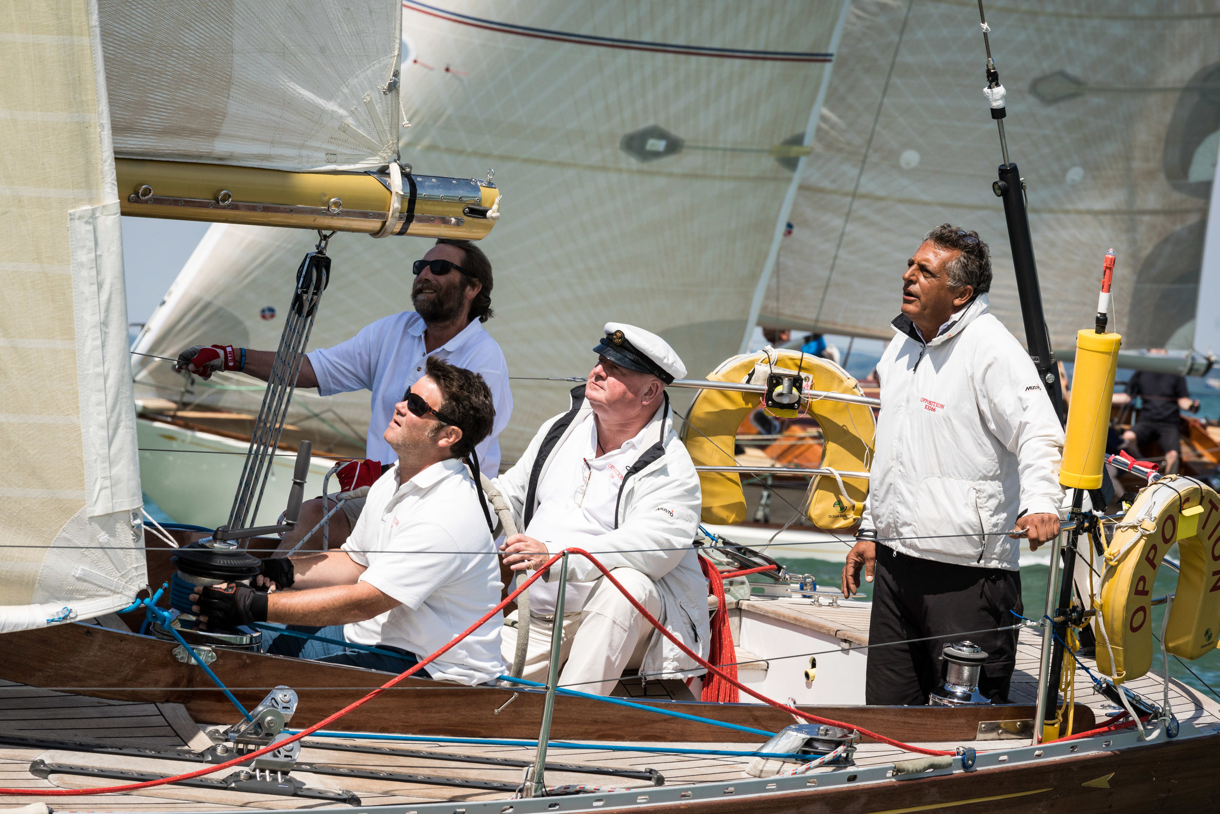 Concentration onboard Opposition