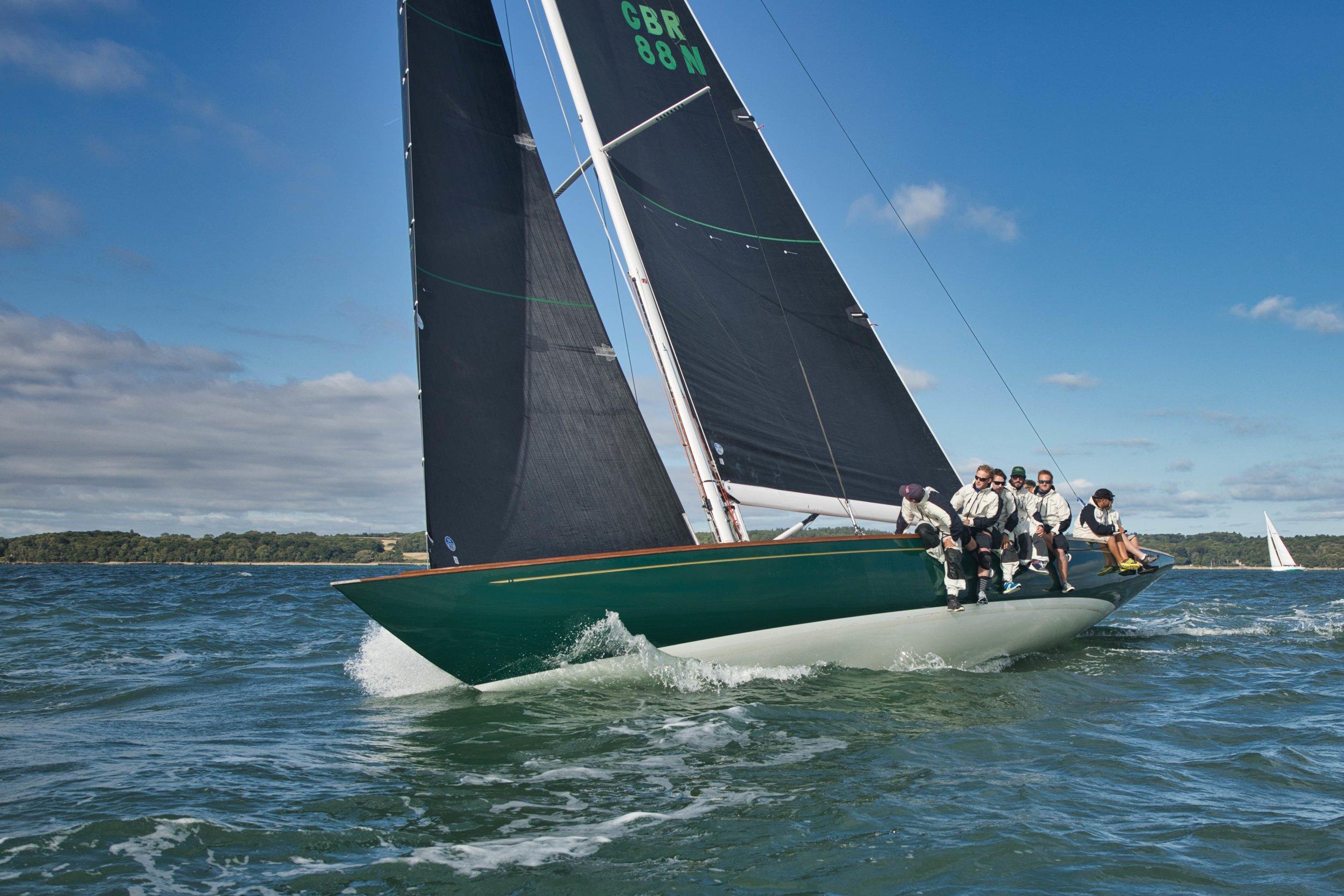 Class 1 (modern classic, Spirit of Tradition yachts) winner, Spirit 52 Oui Fling