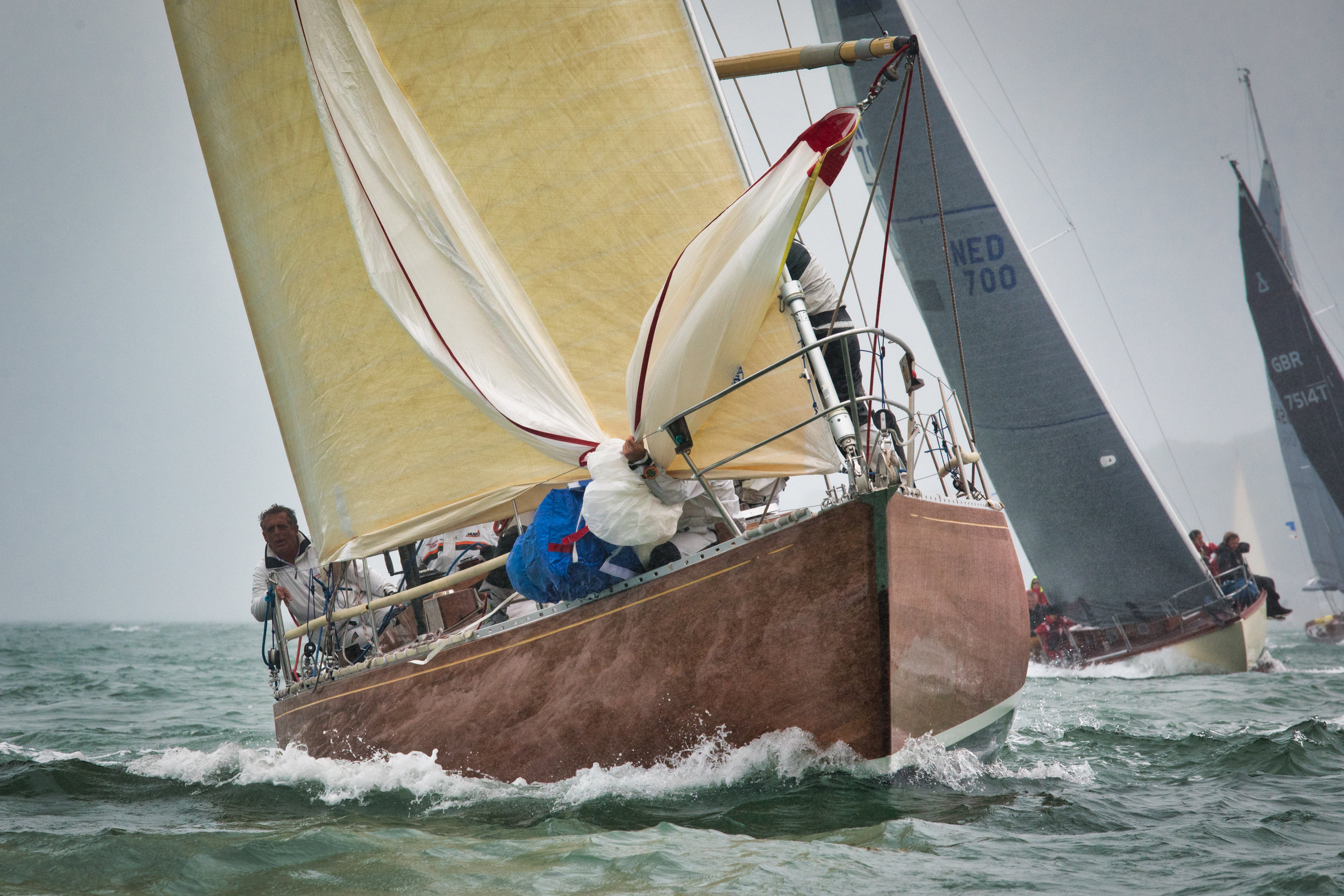 Sparkman & Stephens Two Tonner Sloop Opposition