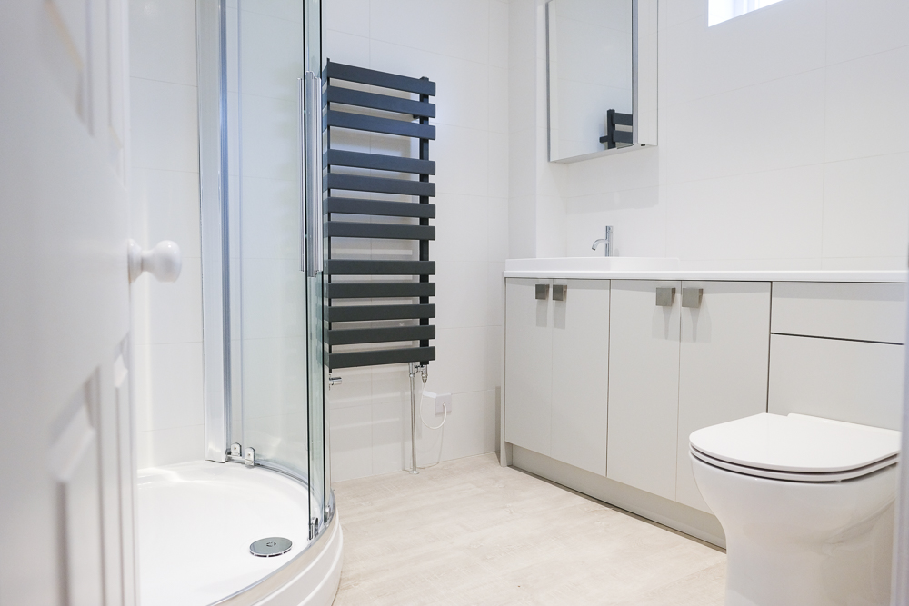Bathrooms - I provide a service from design to completion. I work with a local bathroom designer, tiler, electrician and builder. So I can liaise and organise your bathroom renovation from start to finish.