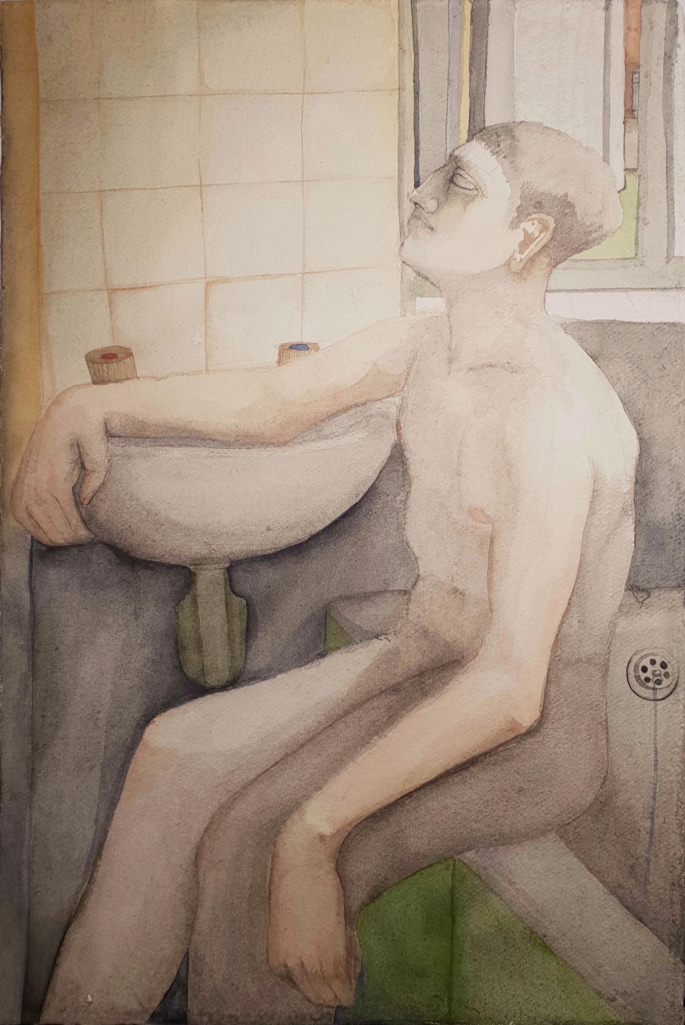 Boy on bath, 2018