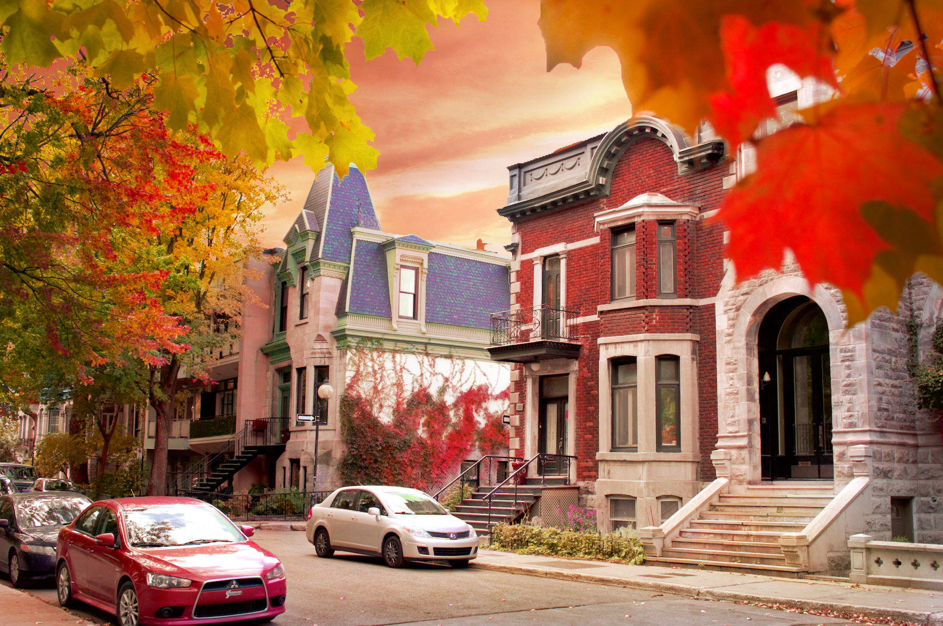 Plateau Montreal Photography