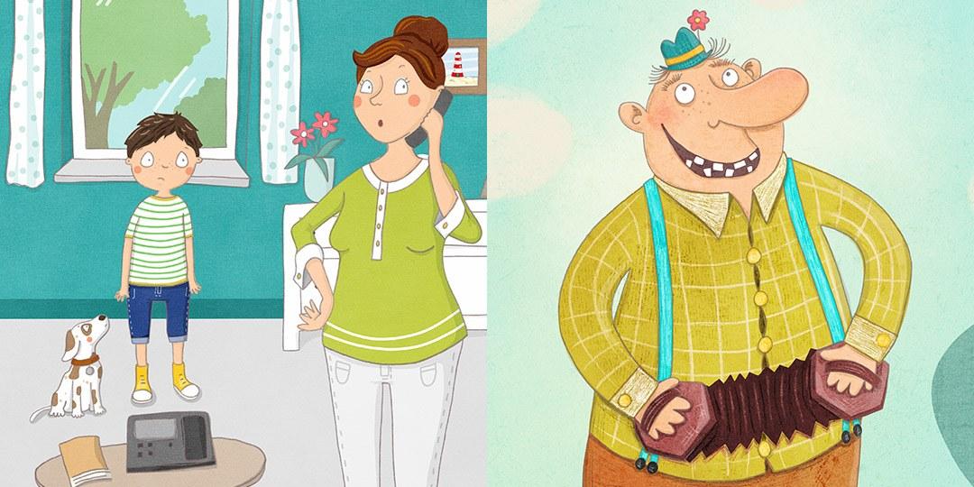 Kinderbuchillustration -