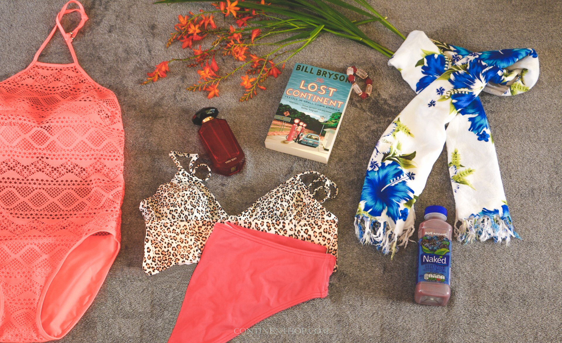 beach holiday packing list