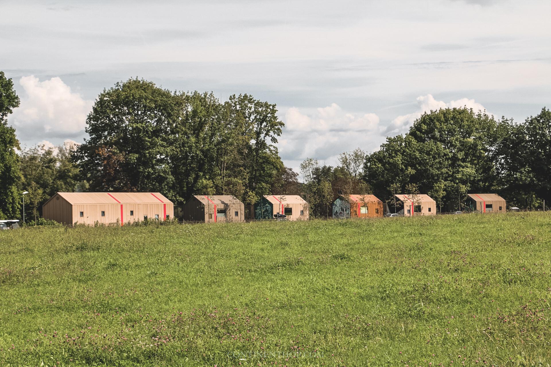 luxury glamping huts at big berry resort in bela krajina slovenia