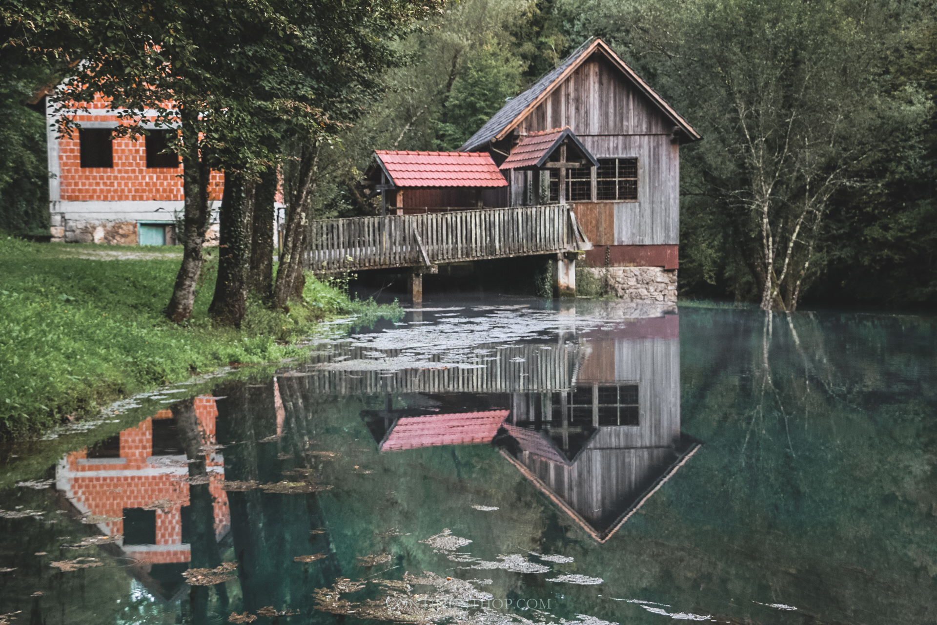 mill near big berry luxury glamping resort in bela krajina slovenia