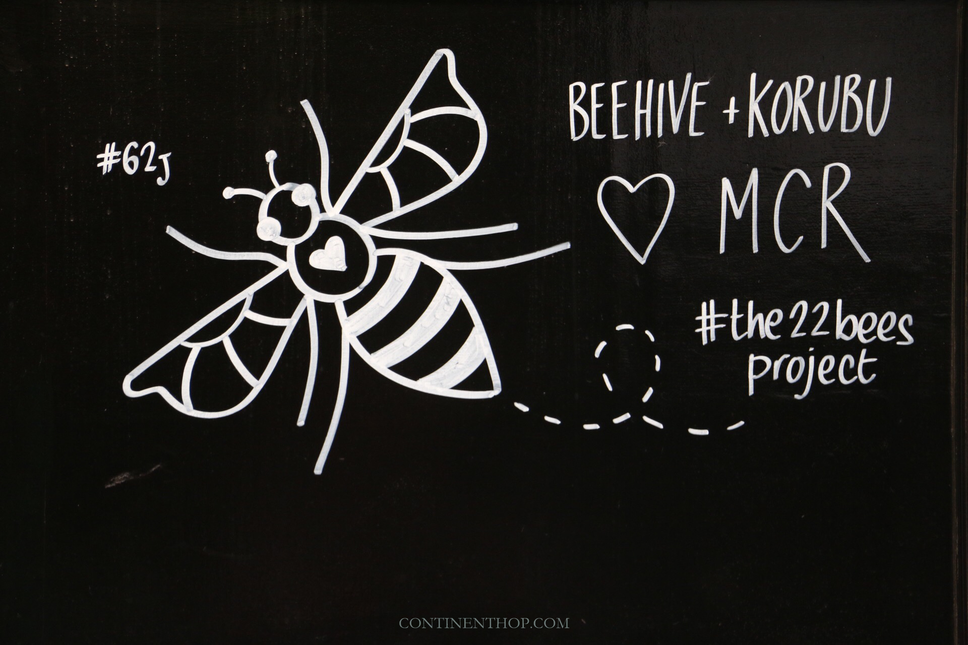 bee street art in victoria quarter manchester attractions travel guide