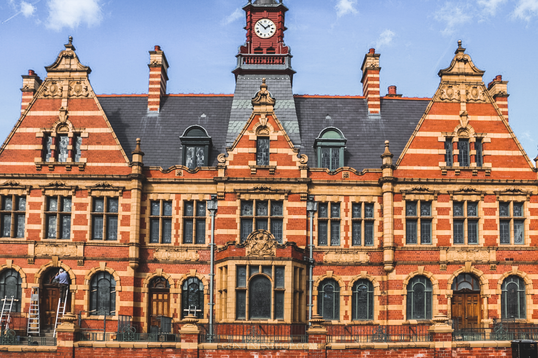 Victoria Baths building manchester attractions and travel guide