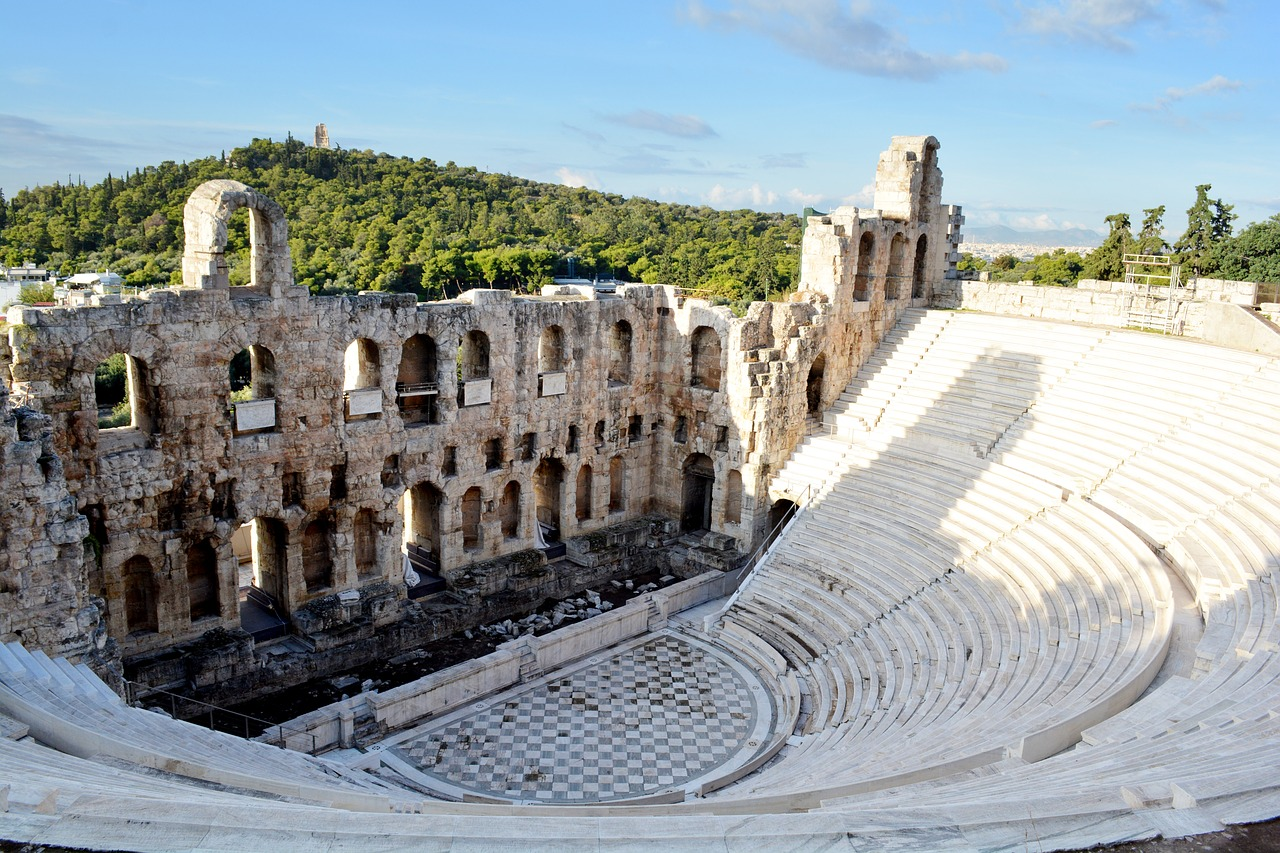the Theater of Dionysus to visit in athens in a day