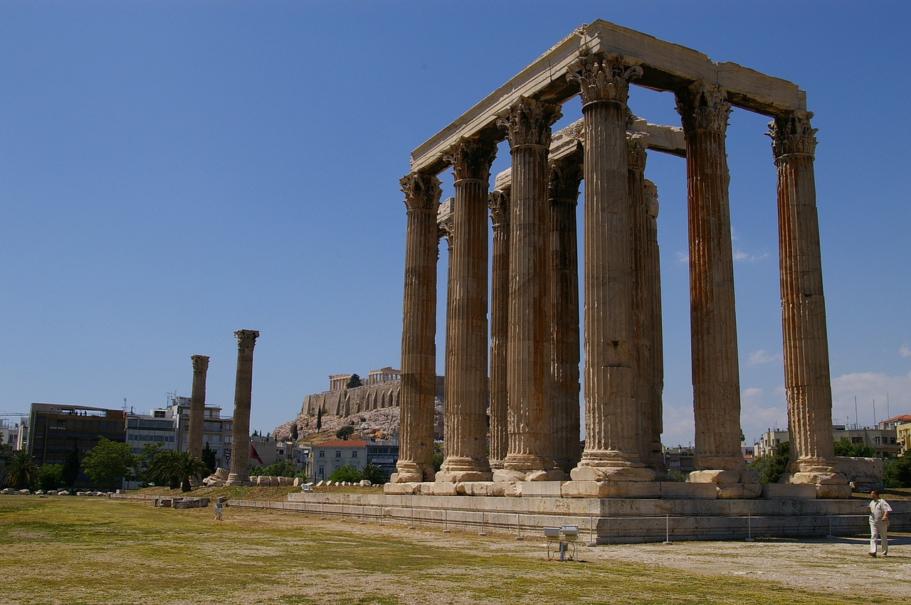 Temple of Olympian Zeus to visit in Athens in a day