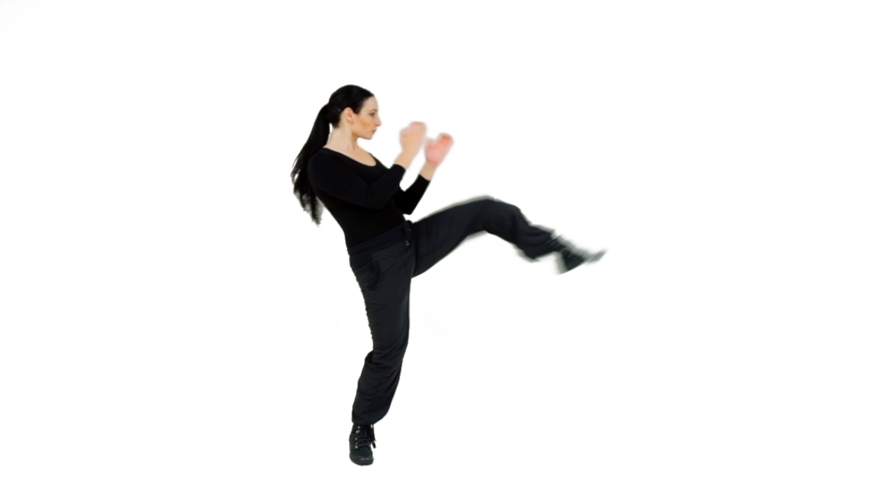 TRANsition - Engage in a Near-side defensive Push Kick. Make sure to utilize your Hip Thrust for full Range of Motion.