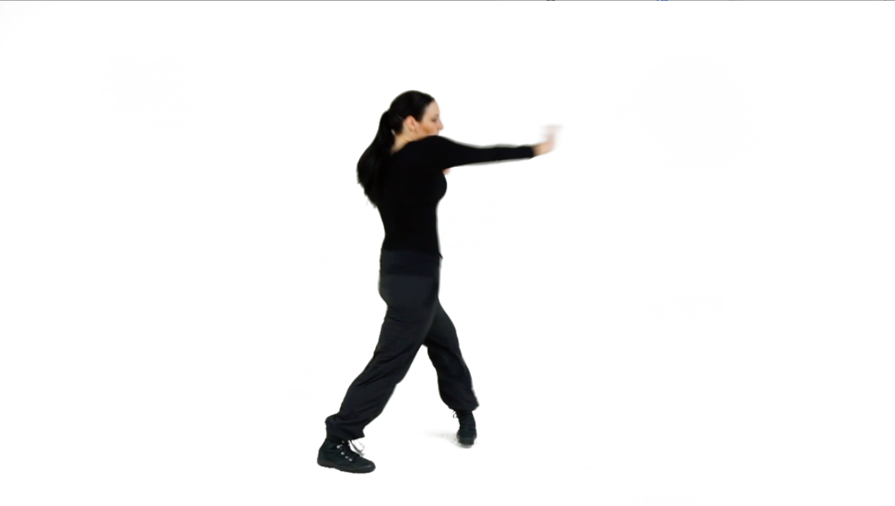 Tactic 3 - Complete the full Rear-side Palm Strike, and don't forget to engage in your Combative Twist for the full Range of Motion.