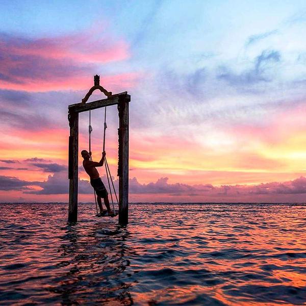 Les couchers de soleil y sont d'une intensité incroyable. Parmi les plus beaux au monde.