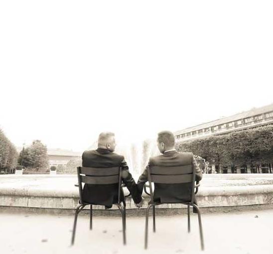 Avis de mariage - Livre d'or Jules et moi. Paco & Franck.