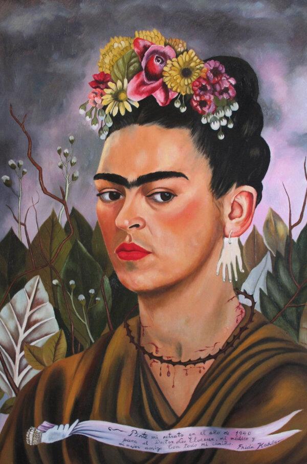 Frida Khalo. Auto-portrait.