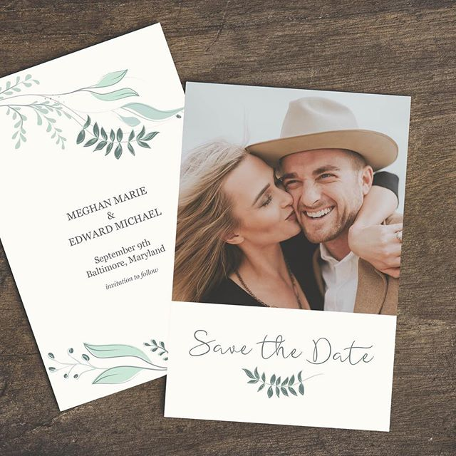 The Save The Date is your first chance to tell your unique love story and set the tone and feel of your wedding day. Don't take this lightly!  This part of the planning process usually comes pretty early and you may not have all of your wedding day aesthetic finalized, but start the conversation with your designer ASAP. You'll want that Save The Date to match the rest of your wedding suite.  #weddingbrand #weddingdesign #coastalwedding #southernweddings #moderncalligraphy #designconscious #fineartwedding #destinationweddingplanner #modernweddinginvitation #minimalistweddings #weddingcoordinator #nycweddings #dcweddings #intimateweddings #rockymountainweddings #weddingday #weddingstationery #weddinginspiration #stilllifecomposition #minimalbride #flatlaystyling #2019bride #graphicdesign #printdesign #weddinginvitation