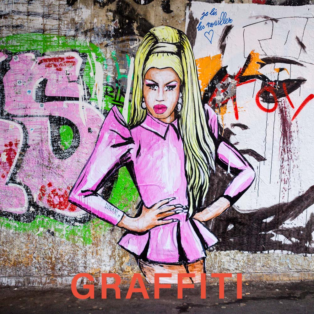 Graffiti fine art images by Chris Nyce | NyceOne Photography