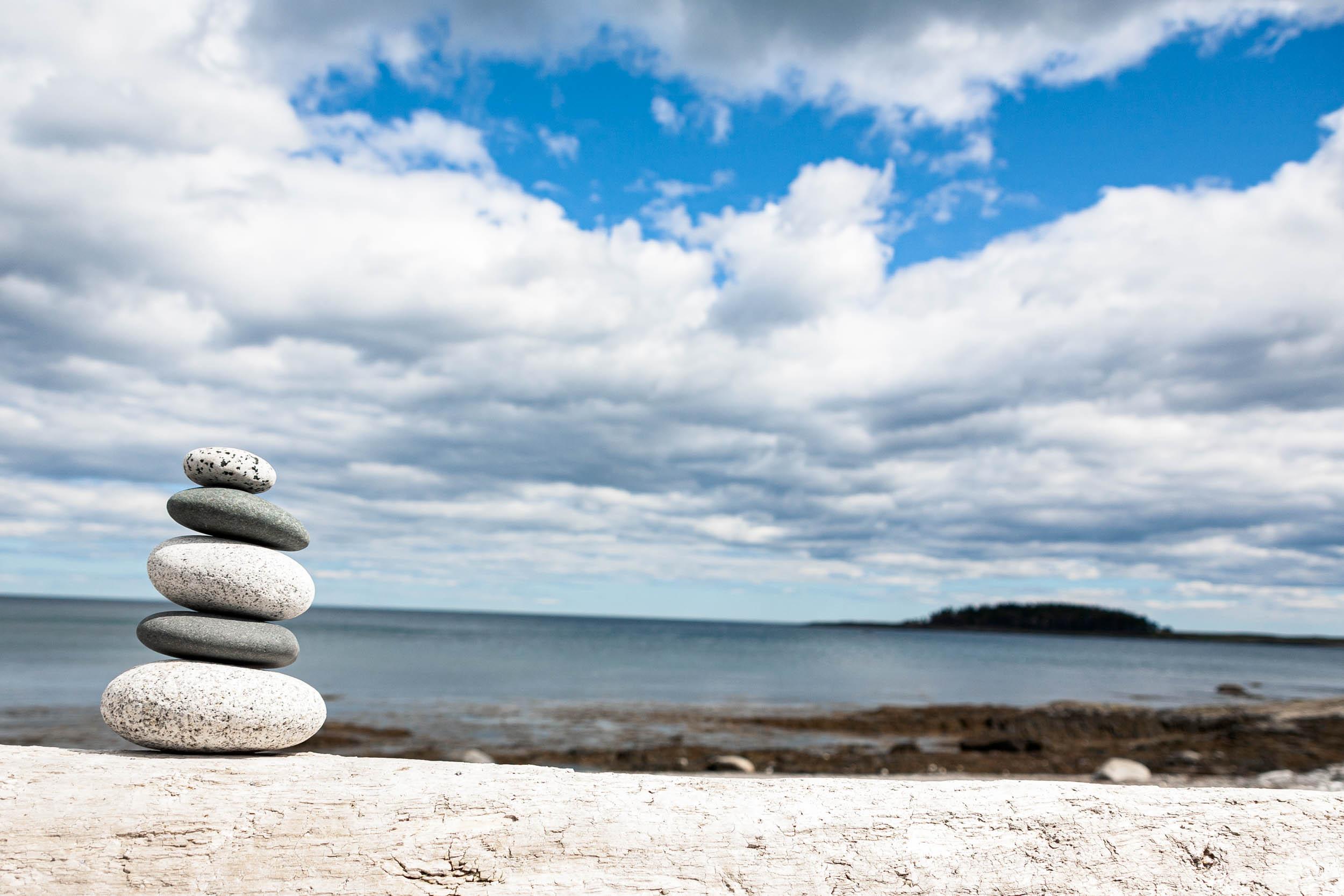 Balance Crescent Beach SP, Maine 2010