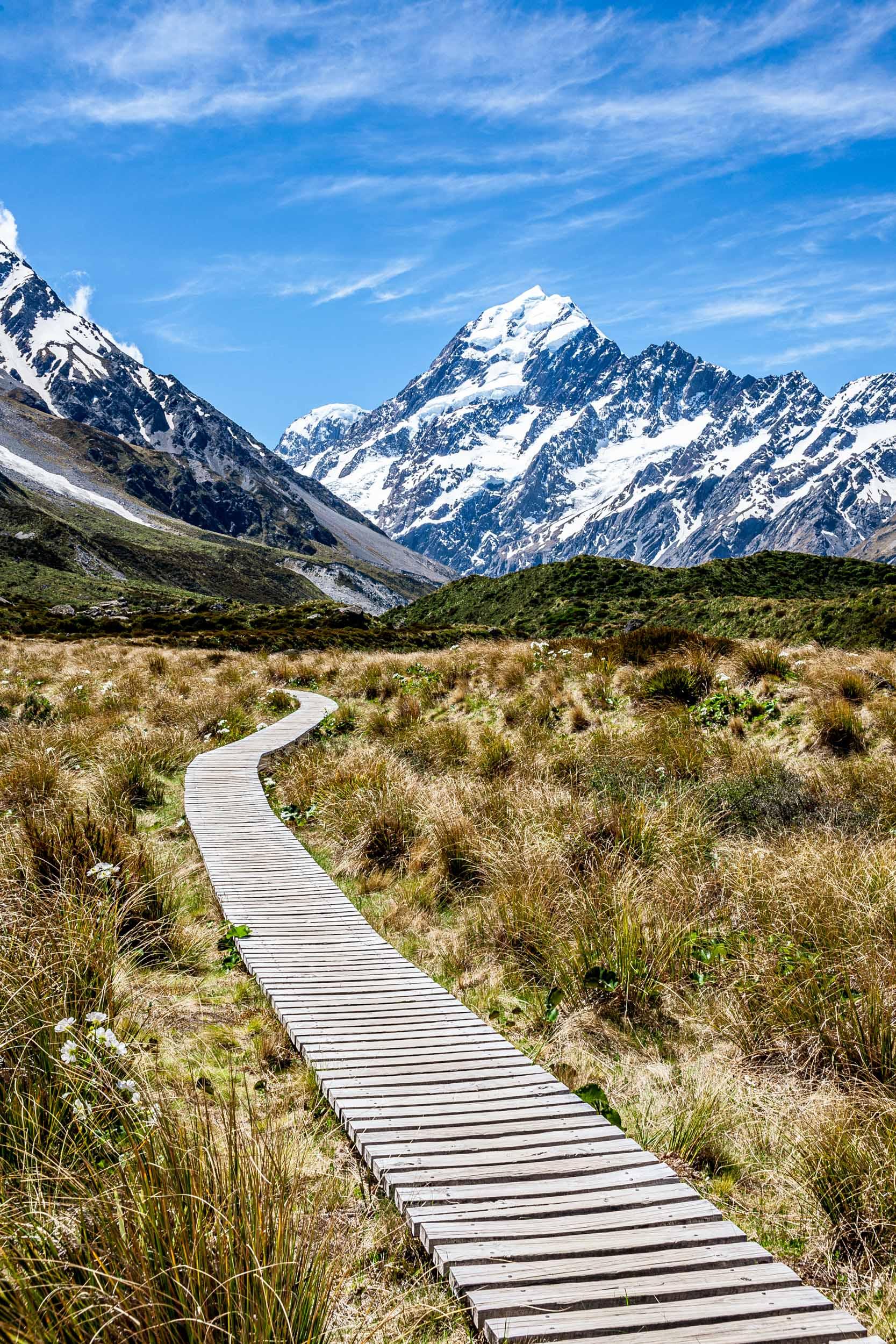Aoraki Mount Cook NP, New Zealand 2013