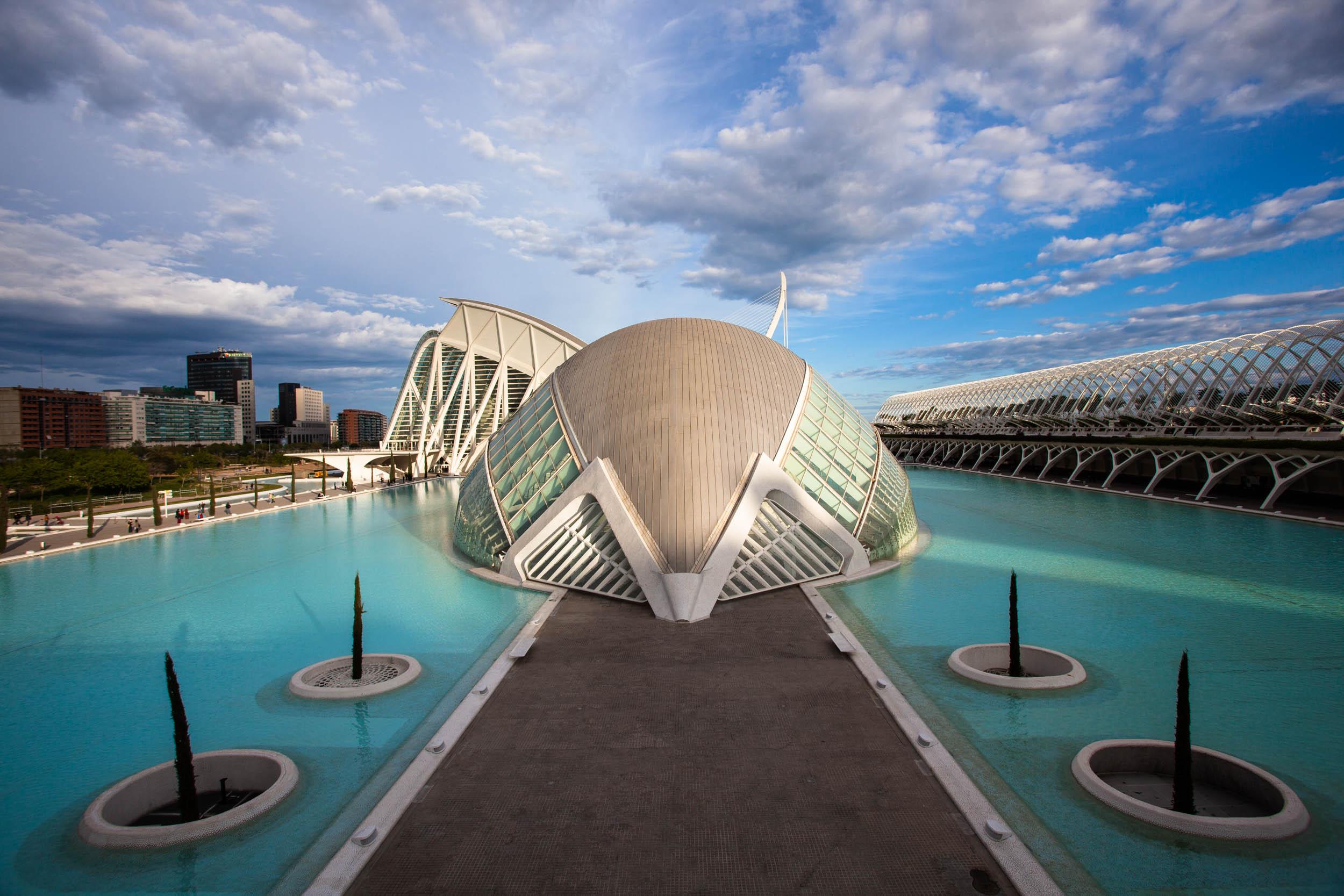 City of Arts & Sciences Valencia, Spain 2009