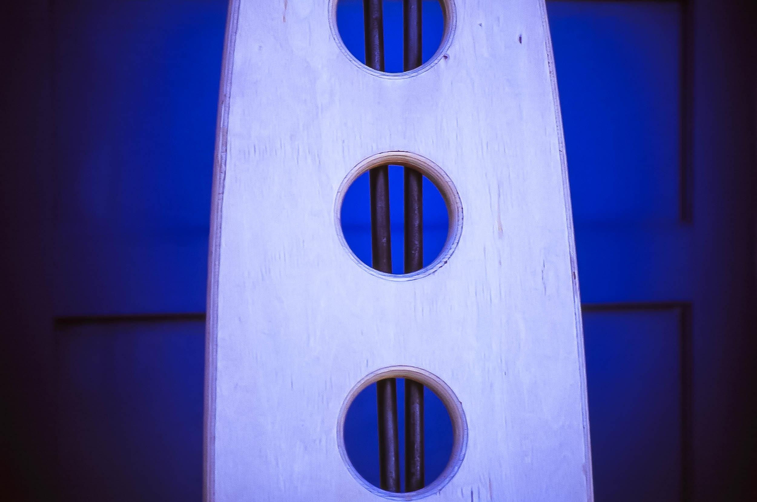 Blue, Chair Santa Fe, NM 2003