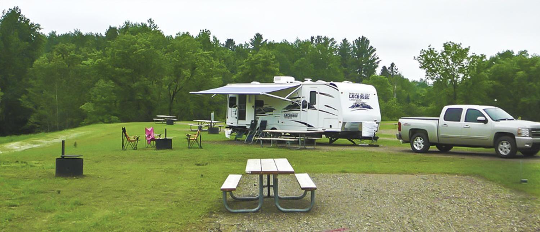 Drummond Lake Campground Northwest Wisconsin Rv Park