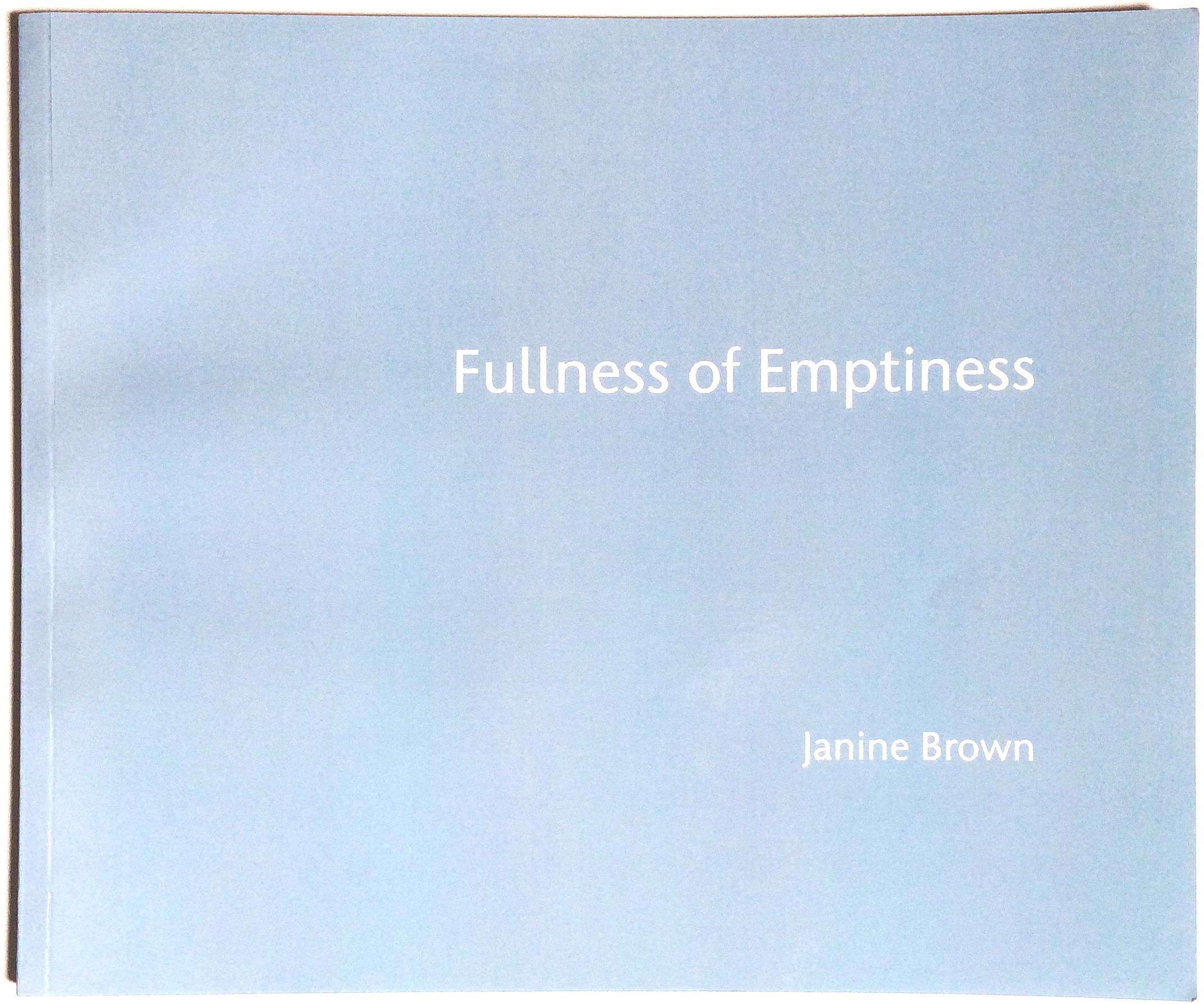 Fullness of Emptiness