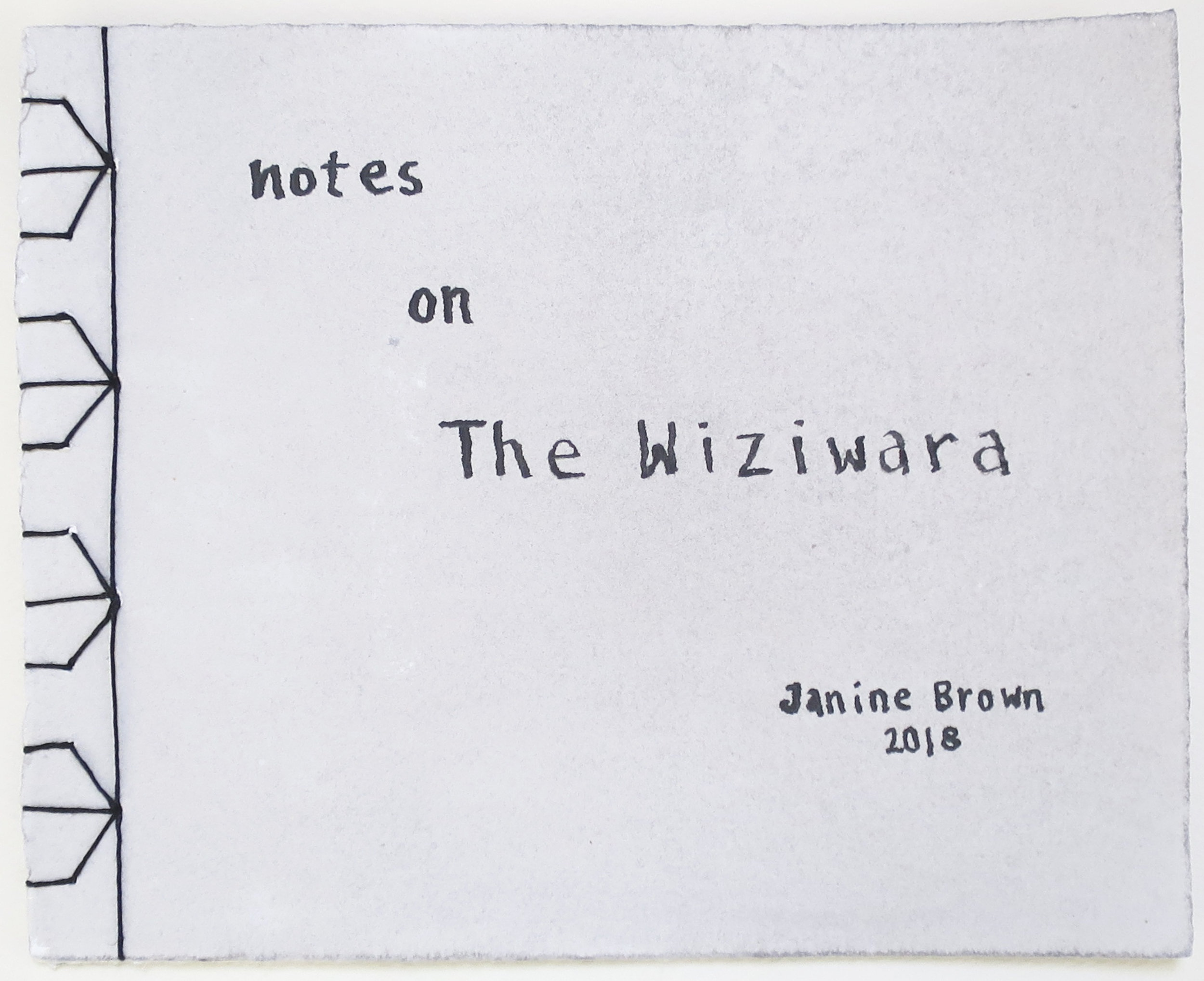 notes on The Wiziwara