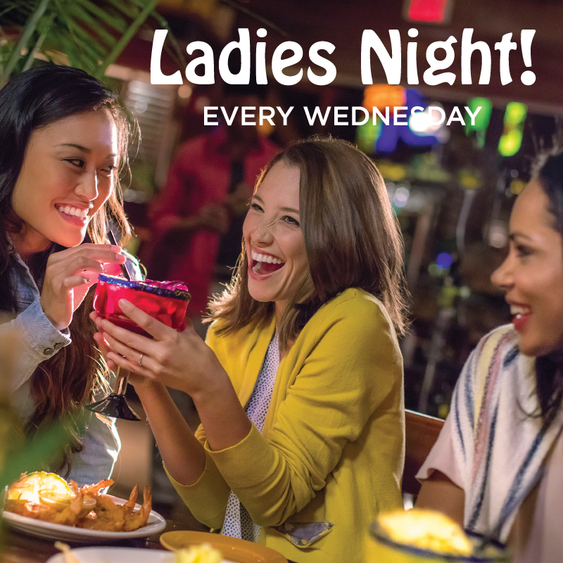 Ladies Night / Every Wednesday / BAR ONLY