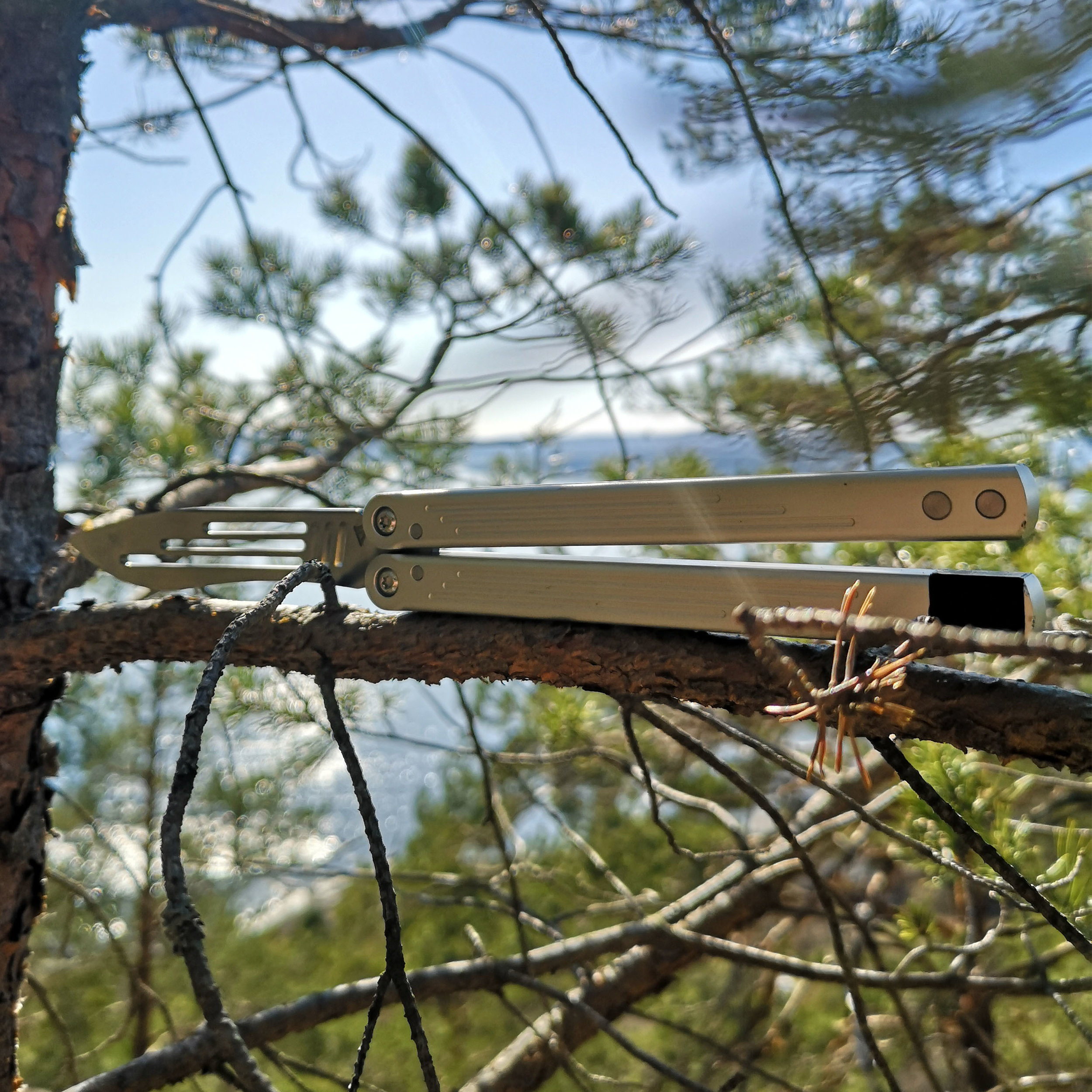 Balisong Trick Tutorial Scissor