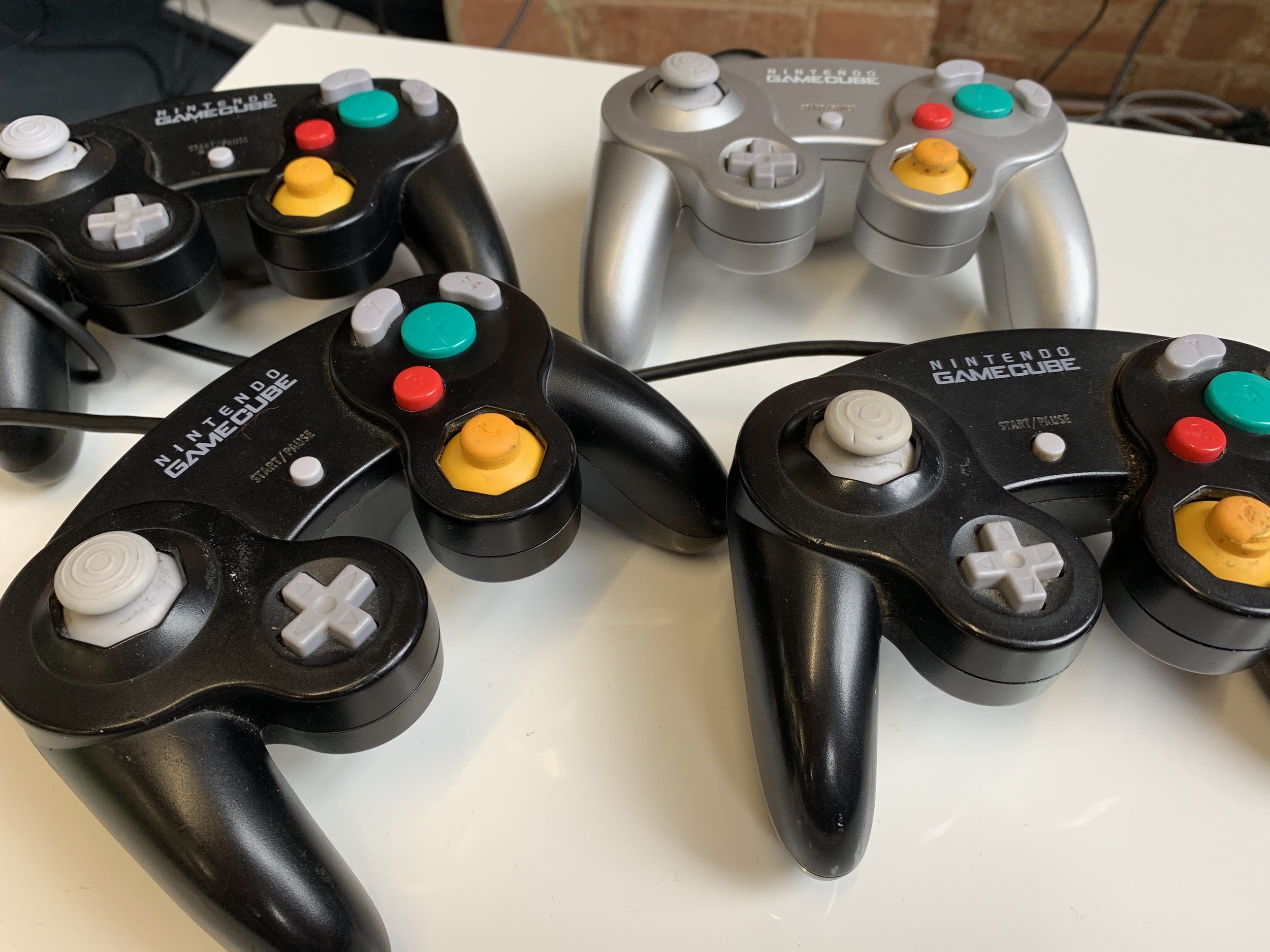 gaming lunches - Mario Kart and Smash Bros are the current faves