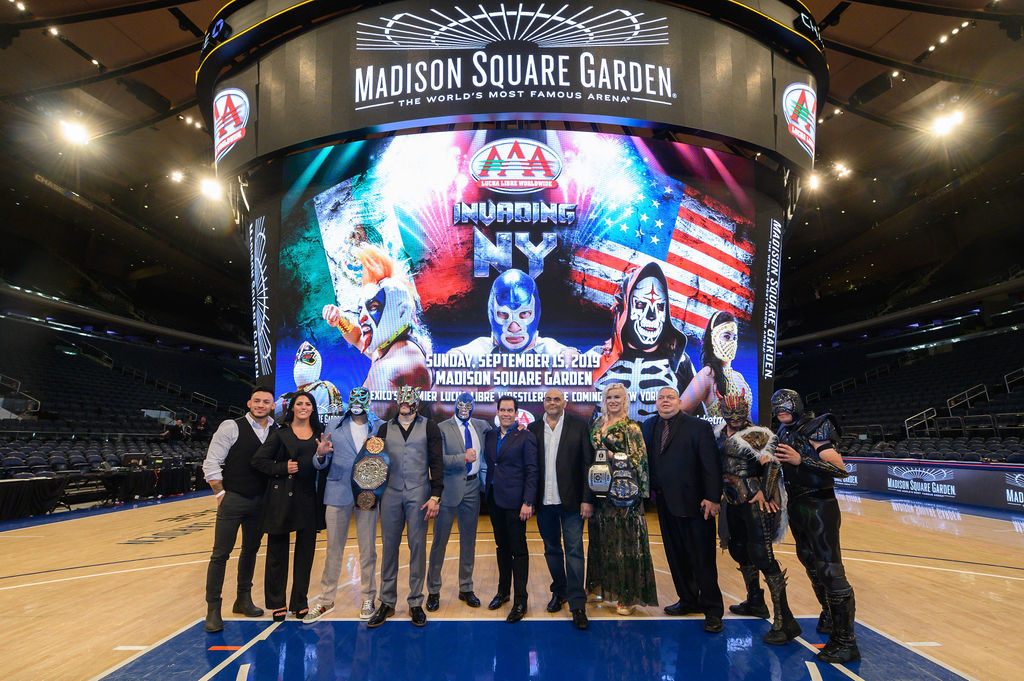 - CHECK OUT OUR PRESS CONFERENCE AT MADISON SQUARE GARDENApril 4, 2019.
