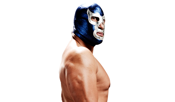 BLUE DEMON JR. - A true Mexican lucha libre legend. Blue Demon Jr. carries a heritage that's deeply embedded in México and its culture, including one of the most iconic lucha libre masks around the world.AAA Latin-American Champion, NWA World Heavyweight Champion and National Atomic Champion; Masks: Black Demon, Espectro Jr., Síndrome.Blue Demon Jr. has won everything. A true legend that possesses a true Mexican warrior spirit, a real Demon on the ring.