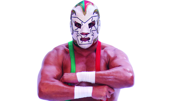 DR. WAGNER JR. - He has been characterized for being a born charismatic fighter, rough in nature, possessor of great wrestling qualities.He is one of the most important juniors in Mexican wrestling; wears a representative mask, full of history.