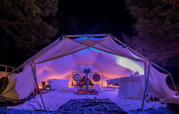 - To help integrate the great teachings of Aniwa, The Spa Ship will set up their geodesic dome and create an oasis of care. MORNING SOUND BATHS WILL BE AVAILABLE