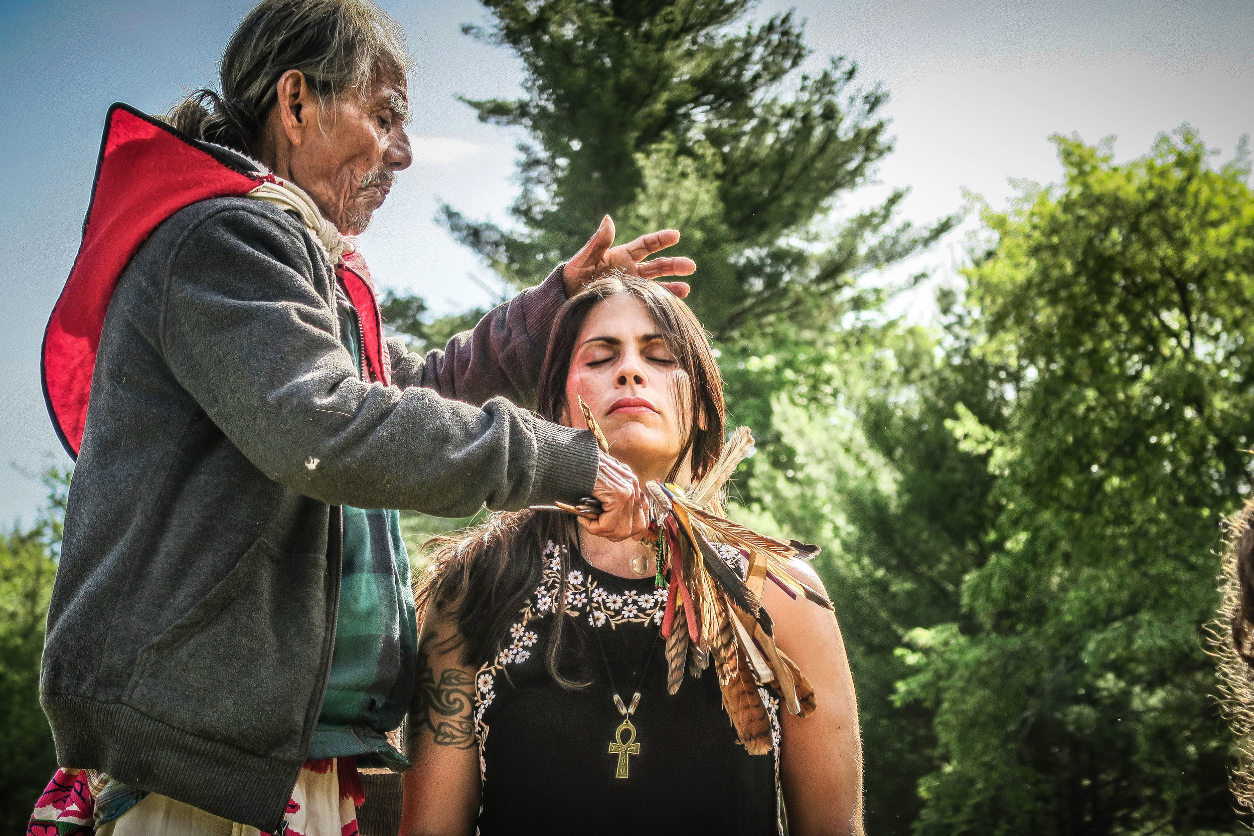 Find deep healing and transformation, guided by masters from unbroken lineages of traditional doctors who work with the spirits of plants and Mother Nature. Private Healings with the elders will be available for booking. - HEALING