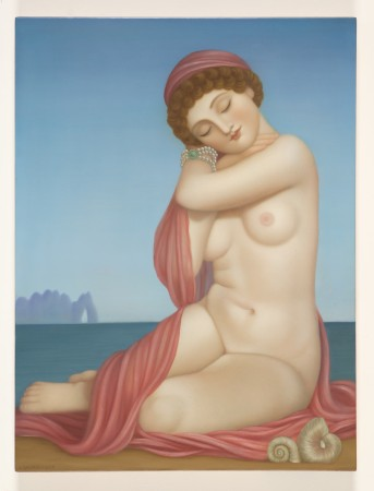 Colette Calascione, Lullaby, 2013 oil on panel 24 × 18 inches