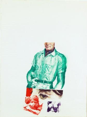 Joseph Raffael, Untitled, 1965 watercolor on paper 29.5 × 22.5 inches