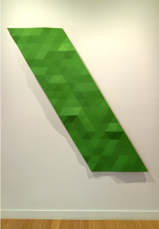 Rupert Deese, Upper Kern River/2, 2007, oil on plywood and fiberglass, 69 x 57 inches