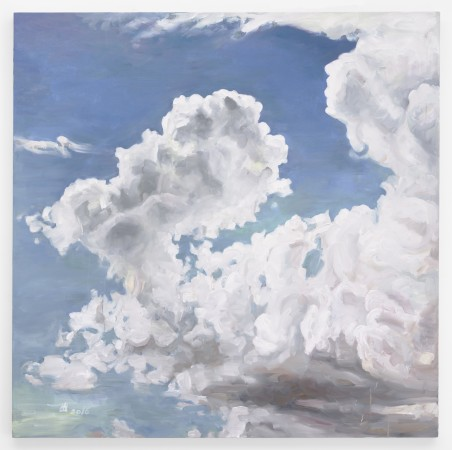 Clouds (After Lange), 2016, oil on canvas, 60 x 60 inches