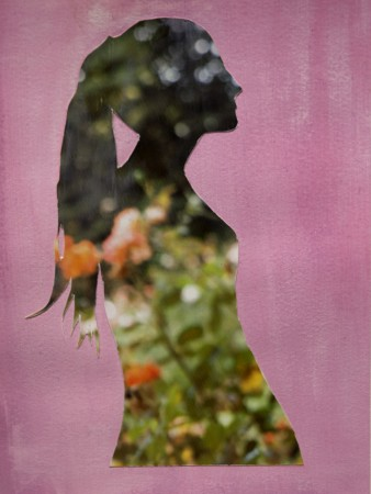 Lisea Lyons, Juliet, 2014, Archival pigment print, gouache and paper, 8 x 6 inches