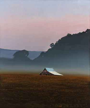Michael Gregory, Brume, 2013, oil on canvas on panel, 61.5 x 51.5 inches