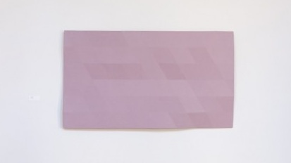 Rupert Deese, Upper Kern River 5, 2007, oil on plywood and fiberglass, 41 x 71 inches