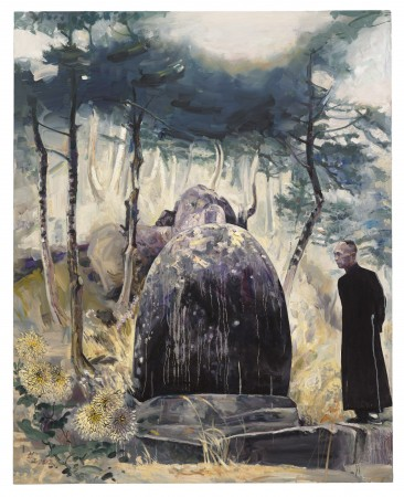 Grandfather's Rock, 2013 oil on canvas 60 x 48 inches