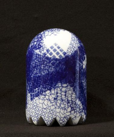 Triton Ghost #1, 2013 ceramic 8 x 5 x 5 inches