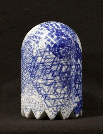 Nereid Ghost #2, 2013 ceramic 8 x 5 x 5 inches