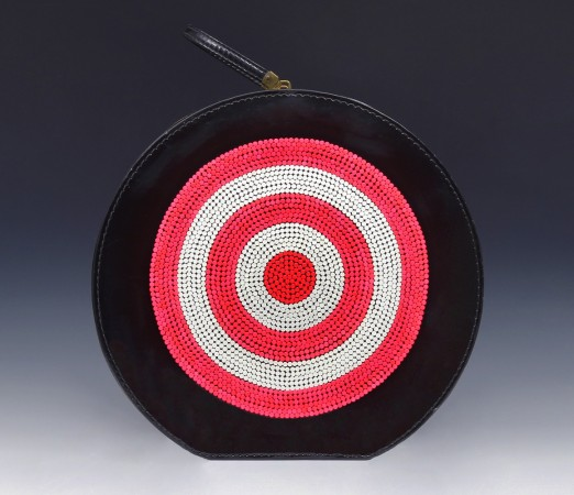 Targeted, 2012 vintage hat bag, birth control pills 24 x 19 x 6 inches