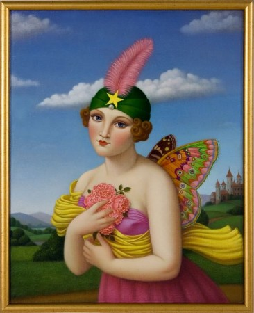 Bliss Ninny, 2009 oil on linen 20 x 16 inches