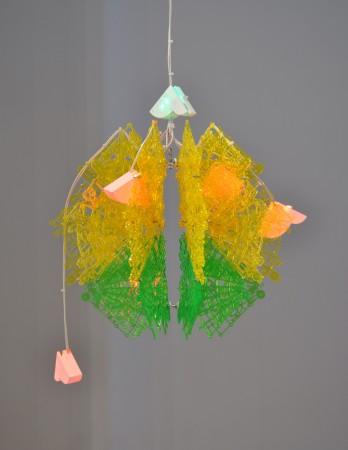 Lemon Lime, 2011 plastic 21 x 17 x 17 inches